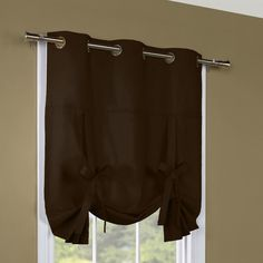 Thermalogic Weathermate Grommet Tie-Up Single Curtain Panel & Reviews   Wayfair