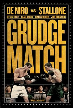 Let's get ready to rumble! Grudge Match movie poster.