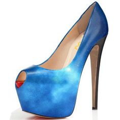 Women's Style Pumps and D'orsay Heels Women's Royal Blue Astral Pumps Platform Peep Toe Stiletto Heels Chic Style Pumps Womens Fashion Prom Dresses Shoes Thanksgiving Outfits 2017 Christmas Party Outfits Women  FSJ