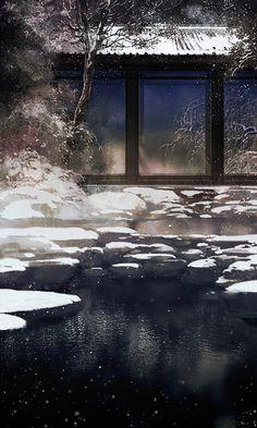 In the wintertime