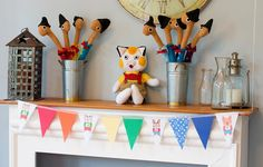 The Bunting is my **FAVORITE** Perfect for getting the Richard Scarry factor in (: