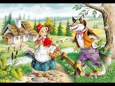 Červená Čiapočka - YouTube Disney Pixar, Art Disney, Charles Perrault, Big Bad Wolf, Artist Album, Pictures Of People, Illustrations, Red Riding Hood, Various Artists