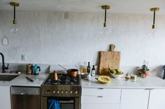 Lower East Side kitchen renovated by chef Camille Becerra. NY Times.
