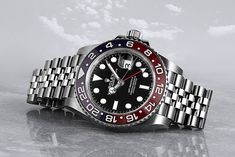 Satisfy your thirst for the perfect sporty wristwatch with the Rolex GMT-Master II (Ref. 126710BLRO) A stunning piece of craftsmanship. Buy Rolex, Rolex Models, Luxury Watch Brands, Rolex Gmt Master, Rolex Watches, Bracelet Watch, Sporty, Steel, Stuff To Buy