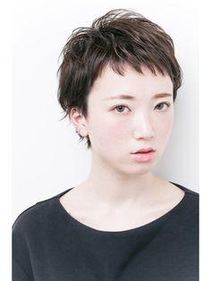 アパカバール Apa Kabar 北花田店『大人可愛い黒髪ベリーショート』☆