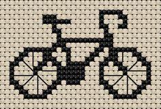 Free Sampler Patterns - bicycle