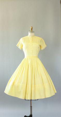 Vintage 50s Dress/ 1950s Dress/ L'Aiglon by WhenDecadesCollide