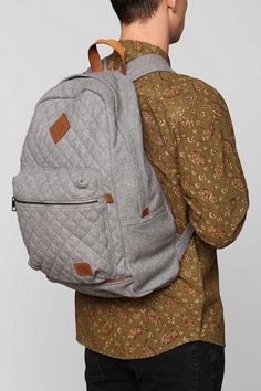 Spurling Lakes Quilted Wool Backpack