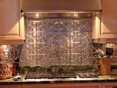 tin backsplashes on pinterest tins kitchen backsplash and tin tiles