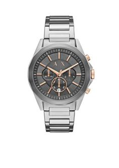 Armani Exchange Ax Men s Stainless Steel Men s Dress Watch Armani Exchange  Mens Watch c56e276c38