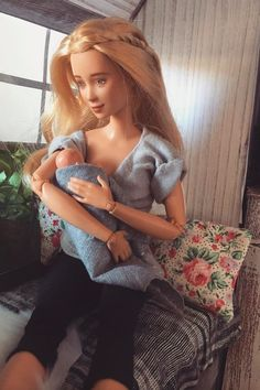 This Mom Is Single-Handedly Changing Playtime With Realistic Pregnant and Breastfeeding Dolls
