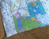 Nursery cot blanket