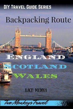UK Itinerary - England, Wales & Scotland