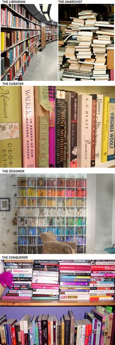"What can a person learn about you just by looking at how you arrange your books? Which one are you? via CBC Books (I think I go back and forth between the curator and the anarchist.... or maybe I""m just messy)"