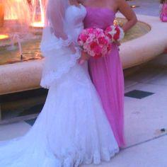 Casa Diris Floral Designer  Bride Bouquet - pinks roses