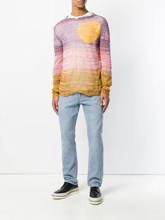 Stella McCartney sunset knitted jumper
