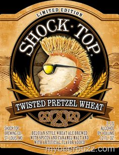 mybeerbuzz.com - Bringing Good Beers & Good People Together...: Shock Top Limited Edition Twisted Pretzel Wheat