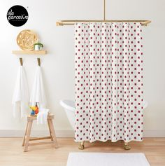 - Fits most standard size tubs and showers  - 12 button holes (shower hooks not included)  - Liner not included - Made from 100% Polyester  - Vivid, full color print on front, white on back  🔹💜 #weperceivestyle #showercurtain #whiteshowercurtain #hongkongrestaurant #oldhongkong #minimallove #vintage #hkstyle #hkrestaurant #bathroomideas #bathroomdecor #bathroomstyle #patternlove #bathroomstyling #bathtime #bathtimefun #showertime #designforliving #designlovers #livingproducts