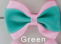 Green hairbow