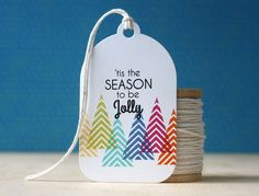 'Tis The Season Tag by Laura Bassen for Papertrey Ink (October 2014)