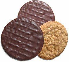 Chocolate hobnobs mmmmm biscuits anyone?
