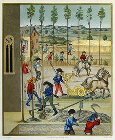 les métiers moyen-âge – RechercheGoogle Fine Art Prints, Framed Prints, Canvas Prints, 15th Century, New Image, Photo Mugs, Photo Gifts, Trees To Plant, Champs