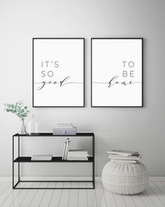 Its So Good To Be Home Printable Sign Set Bedroom Quote Decor Living Room Wall Art Prints Insta Wall Decor Living Room Art Bedroom decor good Home insta living Printable Prints Quote room Set Sign Wall Living Room Art, Interior Design Living Room, Living Room Quotes, Living Room Prints, Living Room Wall Ideas, Living Room Wall Decor Canvas, Living Room Decor Simple, Home Hall Design, Living Room Picture Ideas