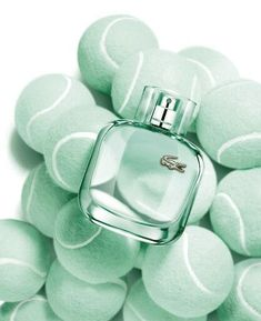 Sea Foam Mint Tennis Balls and Perfume Mint Green Aesthetic, Aesthetic Colors, Azul Tiffany, Tiffany Blue, Mint Color, Green Colors, Colours, Wallpaper Tumblrs, Tumblr Sticker