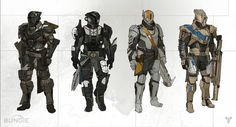 Here's A Ton Of New Concept Art For Destiny, Bungie's Next Big Game