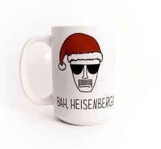 Bah Heisenberg Large 15 oz Breaking Bad Mug by gnarlyink on Etsy