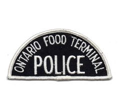 Canada - ON - Ontario Food Terminal Police (Toronto)   by conner395