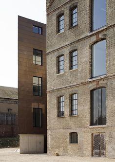 Old & New - The Granary / Pollard Thomas Edwards Architects