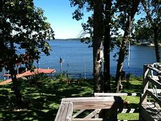 Castaway+Cove+-+Lakefront+Home+++Vacation Rental in Lake Palestine from @homeaway! #vacation #rental #travel #homeaway