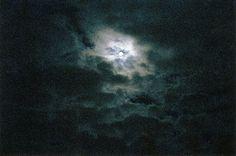달, 밤, 하늘