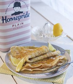 Like to keep things simple? You can't go wrong with Fred's traditional sweet pancake recipe on Shroves Tuesday.