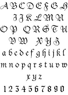 Tattoo Lettering | artistic lettering tattoos styles | Popular Tattoo Designs
