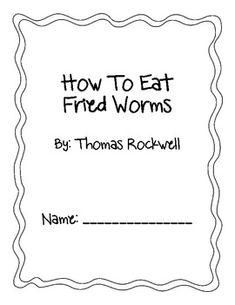 how to eat fried worms novel study pdf