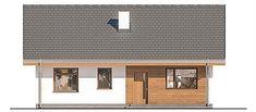 Projekt domu Murator C333j Miarodajny - wariant X 86,6 m2 - koszt budowy 117 tys. zł - EXTRADOM Outdoor Decor, House, Home Decor, Decoration Home, Home, Room Decor, Home Interior Design, Homes, Houses