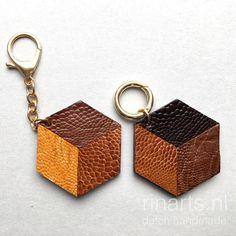 Hexagon keychain mad