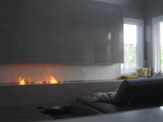 Let our gallery of our bio ethanol fireplace installations inspire what fireplace designs could work in your home. Our bio ethanol fireplaces can become a focal point in any home. Fireplace Tv Wall, Linear Fireplace, Bioethanol Fireplace, Fireplace Design, Fireplace Mantels, Mantles, Living Room Decor Traditional, Traditional Fireplace, Traditional Decor