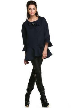 FINEJO Women Loose Jacket Coat