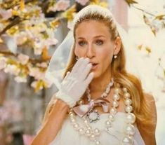 Sex and the City - The Movie - Carrie - Vogue wedding photo shoot