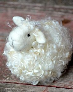 Passover Sheep Needle Felting Kit, Passover Paper goods, Passover Craft ideas #2014 #passover #lamb #crafts www.loveitsomuch.com