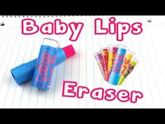 DIY EOS Eraser - Starbucks EOS Eraser Craft Idea - YouTube