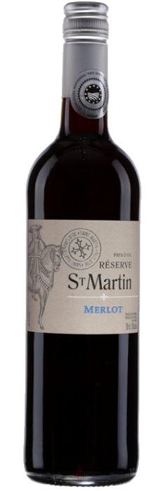 Vign. Méditerranée / Gr. Val Orbieu  - Merlot Réserve Saint-Martin