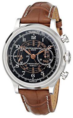 Baume & Mercier MOA10068 - Reloj de pulsera hombre