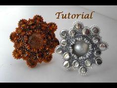 Tutorial Anillo Flor Pellets - YouTube
