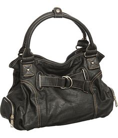 Purse Boutique: Black ''Bonnie'' Hobo Purses