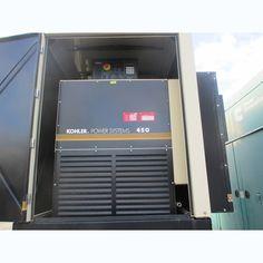 Kohler 450 kW Diesel Generator.  Detroit diesel engine.  1800 rpm.   Serial no: 2278690.  277/480V.   Low hours. Brushless excitation.      Please contact us for more...