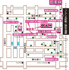 「SANUKI ROCK COLOSSEUM」タイムテーブル & MAP   もん☆もん☆もんすたあなせかい Floor Plans, Diagram, Image, Floor Plan Drawing, House Floor Plans